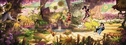 Fairies Disney wall mural